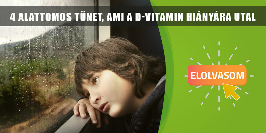 4 alattomos tünet, ami a D-vitamin hiányára utal