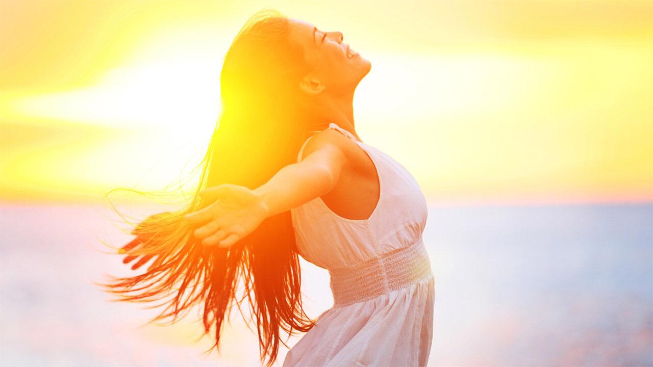 A napfény hatása