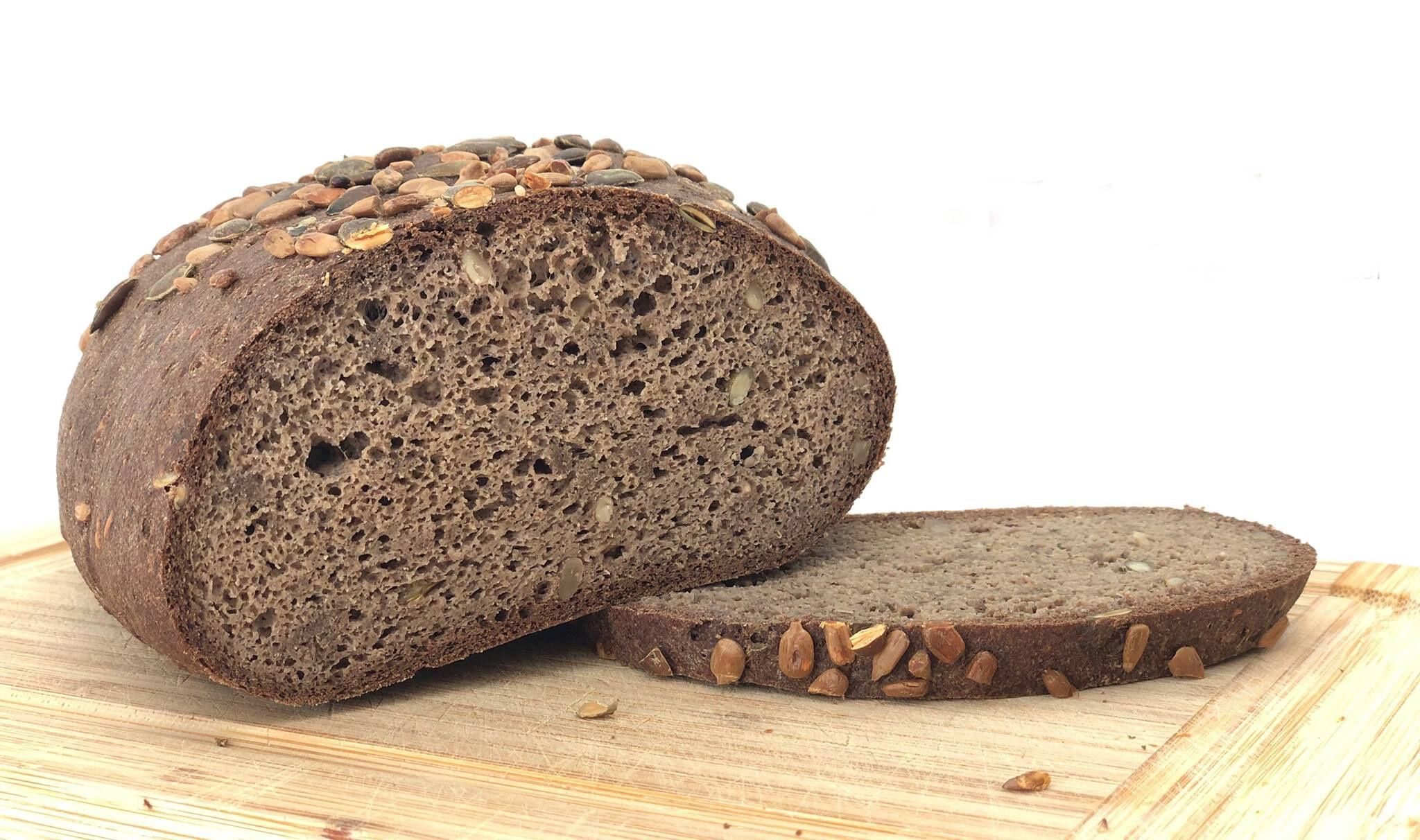 Ultra Low Carb kenyér - tökmag és mandulaliszttel, szénhidrát csökkentett.