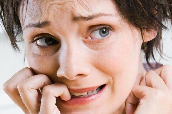 A pánikbetegség tünetei.