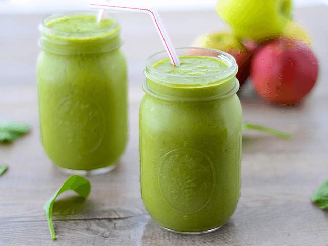 Almás zöld ital recept