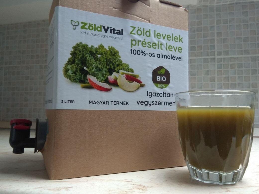 A növények levele tartalmazza a legtöbb tápanyagot, amire csak szükséged lehet. Ez a zöld ital, frissen préselt zöld levelekből készült.