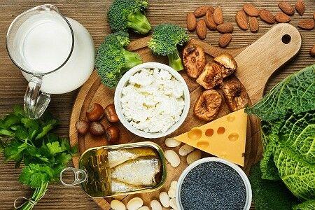 Kalciumban gazdag ételek