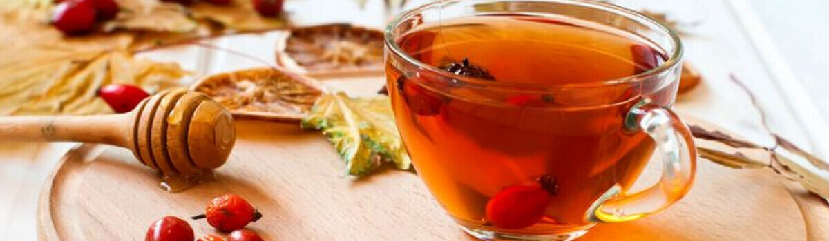 Csipkebogyó tea