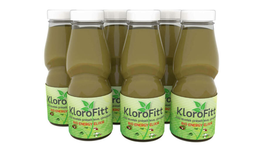 Klorofitt Zöld ital