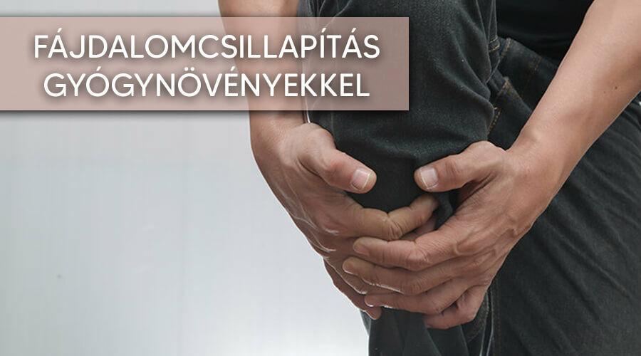 Egyes gyógynövények használatával csökkentheted a fájdalmakat.