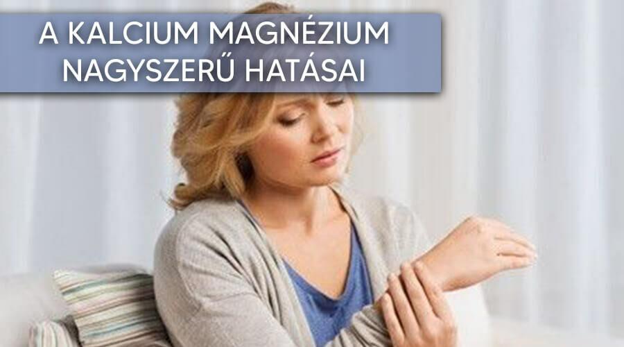 Kalcium magnézium cink mire jó