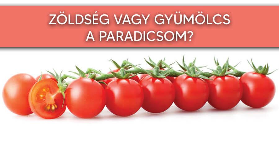 Kiderül, hogy zöldség vagy gyümölcs a paradicsom!