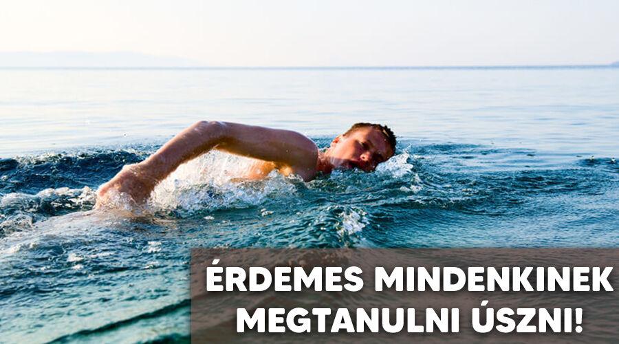 Ezért olyan egészséges az úszás.
