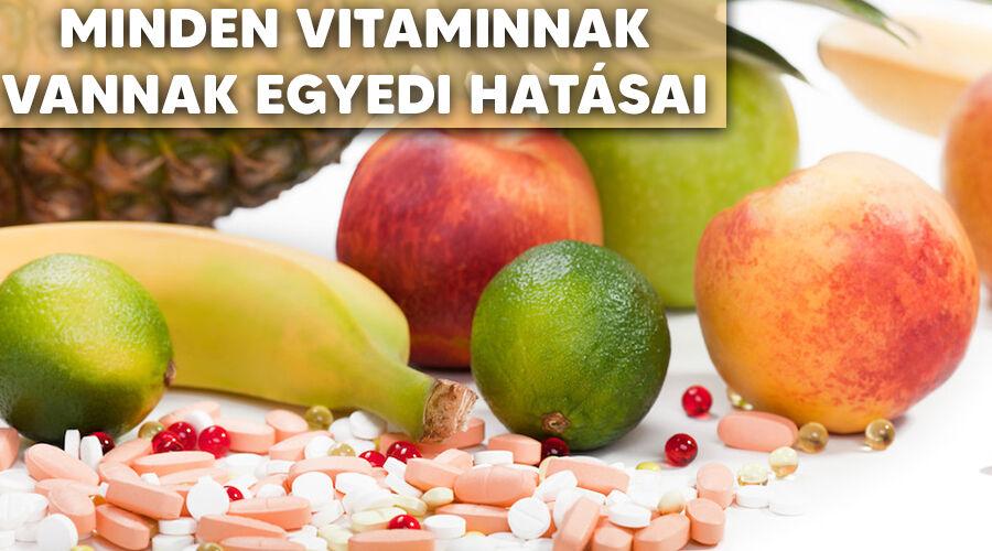 Vitaminok hatása