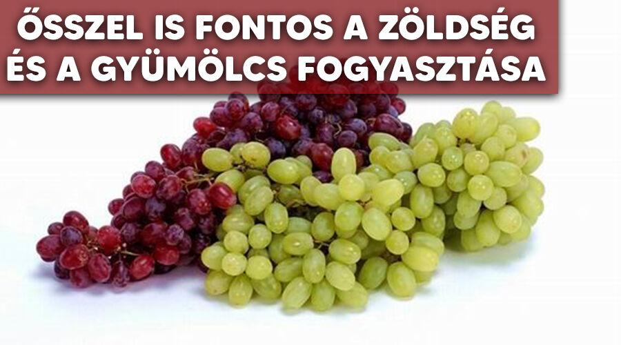 Őszi zöldségek és gyümölcsök