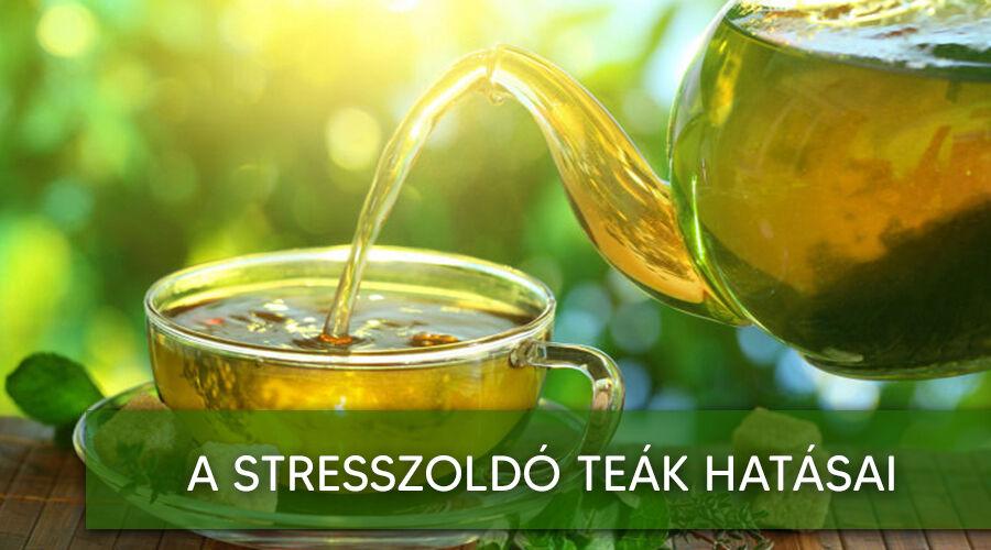 Stresszoldó tea