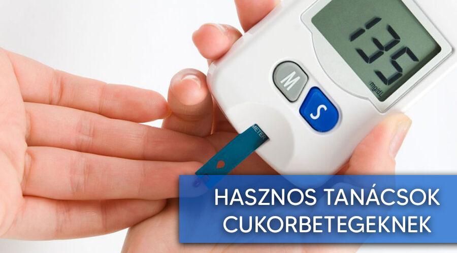 Jó tanácsok cukorbetegeknek.