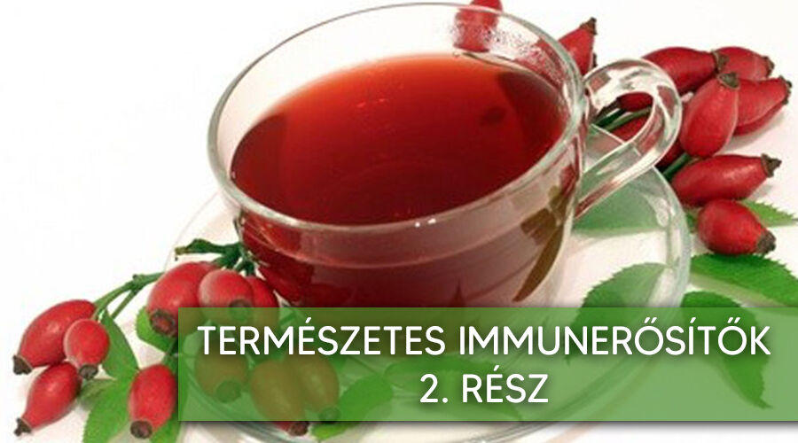 Természetes immunerősítők 2. rész.
