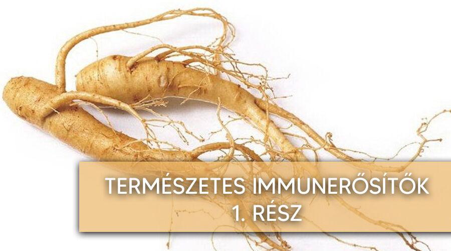 Természetes immunerősítők