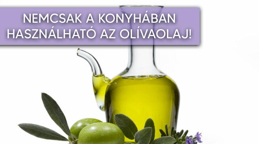 Olívaolaj használata a konyhán kívül.