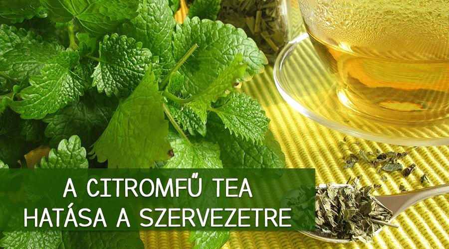 citromfű tea mire jó