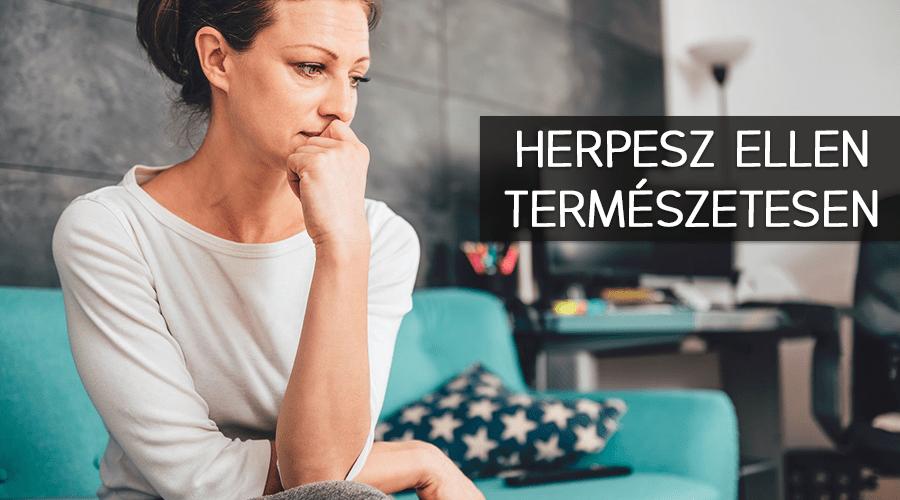 Herpesz ellen természetesen.