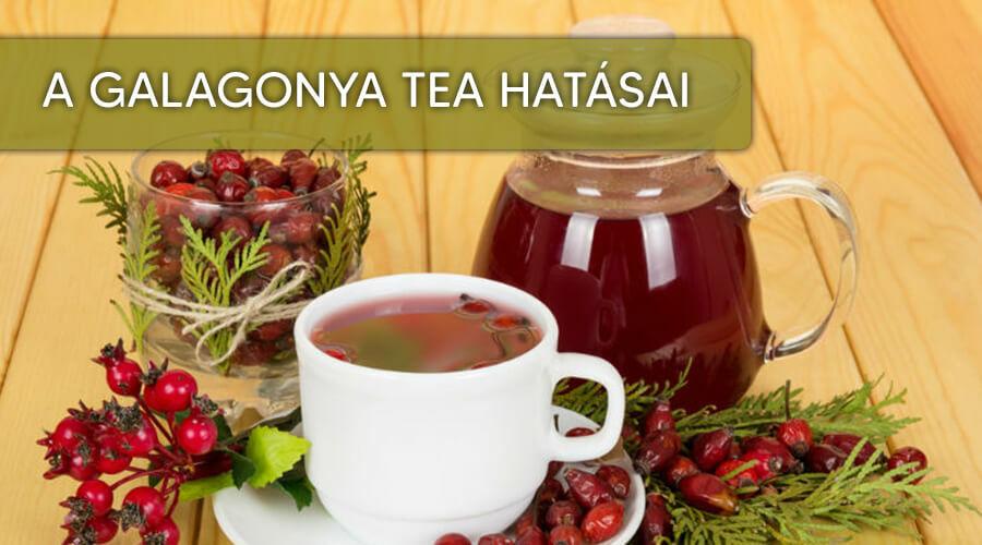 Galagonya tea hatásai.