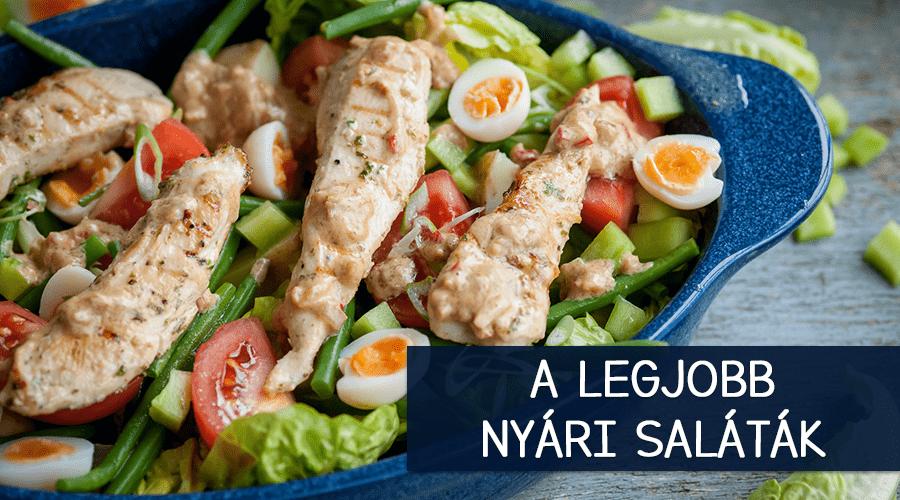 Legjobb saláták nyáron