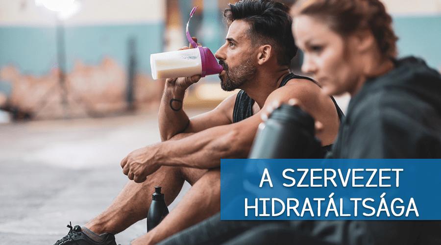 A szervezet hidratáltsága
