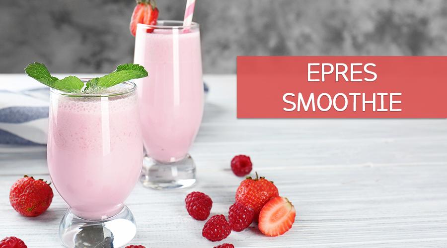 Epres smoothie recept