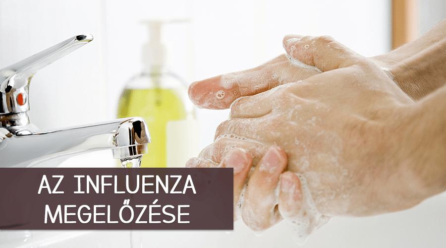 Tanácsok influenza megelőzésére.