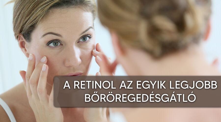 A retinol hatásos bőröregedésgátló.
