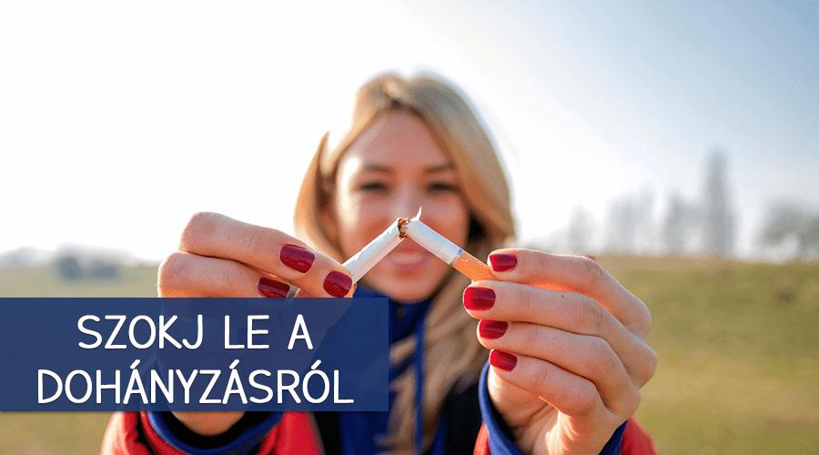 Ezek segíthetnek leszokni a dohányzásról.