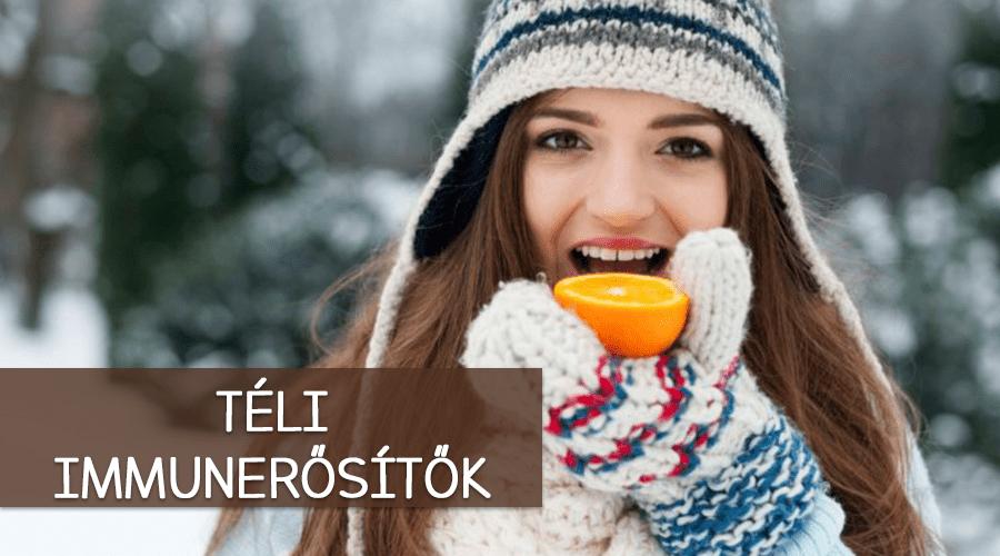 Téli immunerősítők