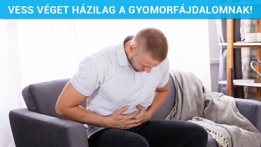 Vess véget házilag a gyomorfájdalomnak!