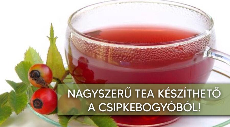A csipkebogyó tea nagyszerű hatásai.