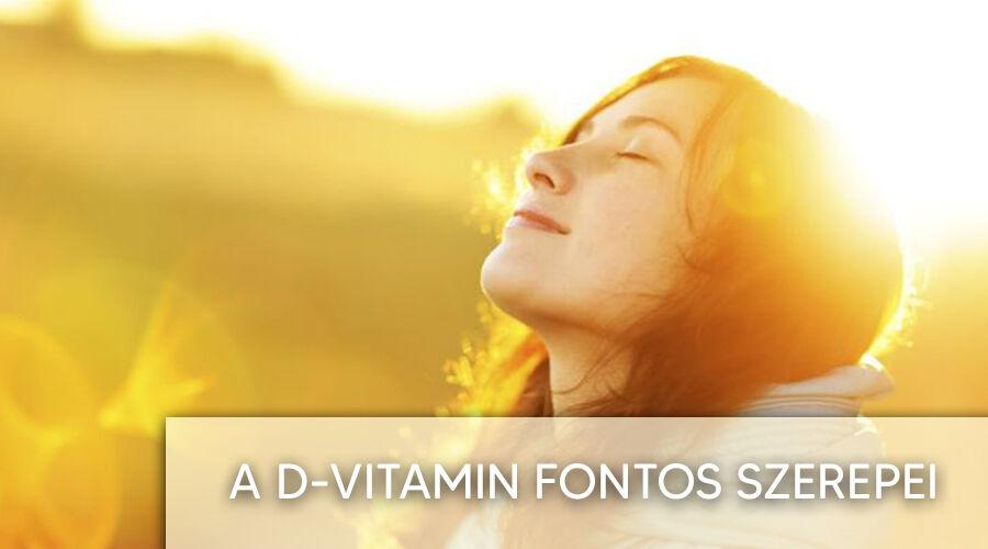 A D-vitamin szerepei.