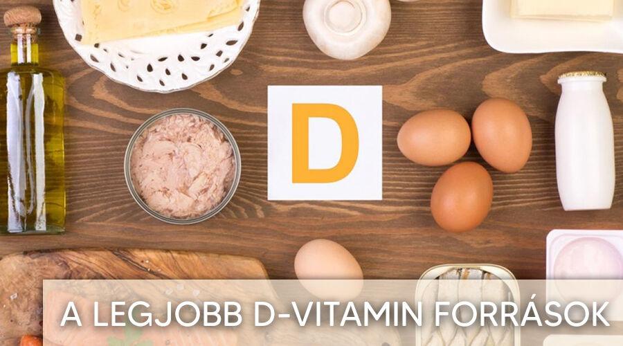 Legjobb D-vitamin források
