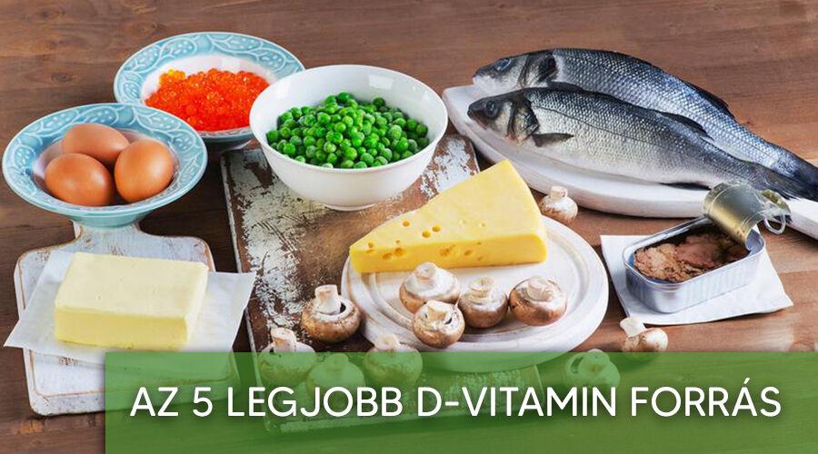 Természetes d vitamin forrás