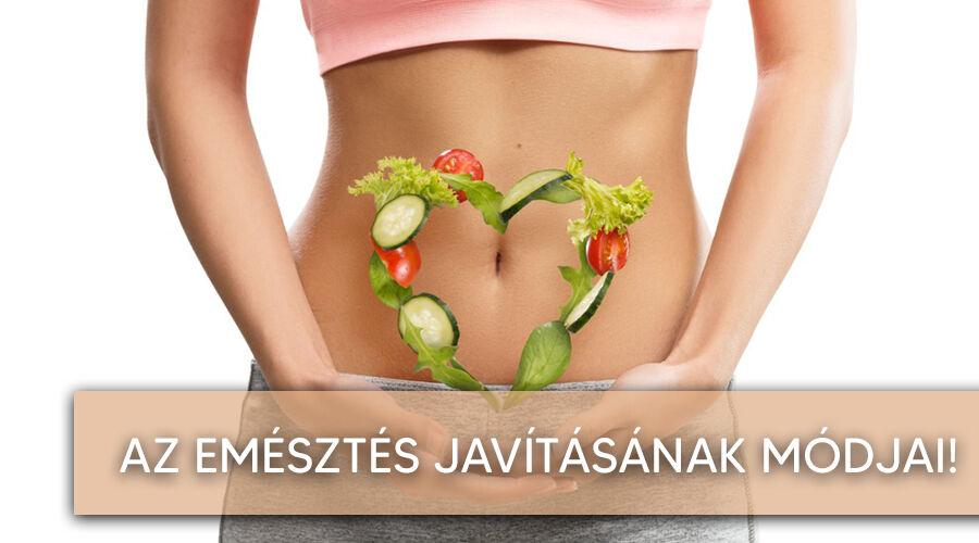 Az egészséges életmódhoz nagyon fontos a jó emésztés.
