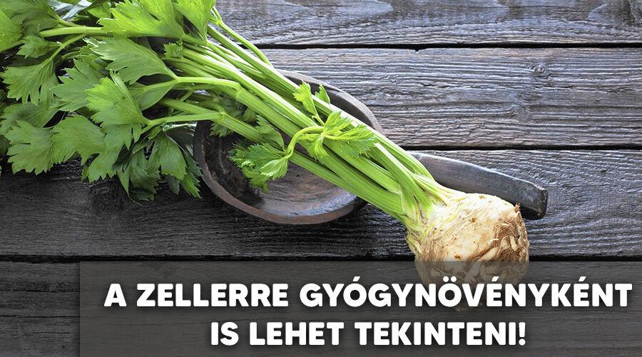A zeller gyógyhatásai.