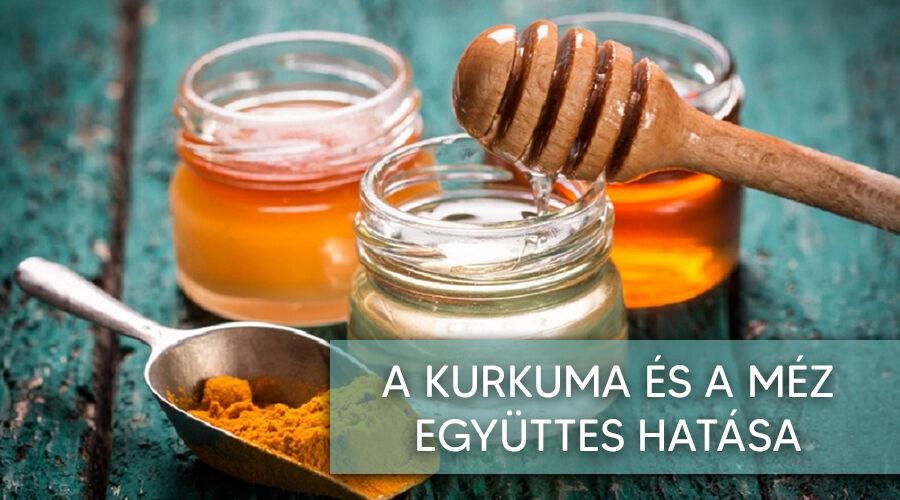A kurkuma és a méz hatásai.