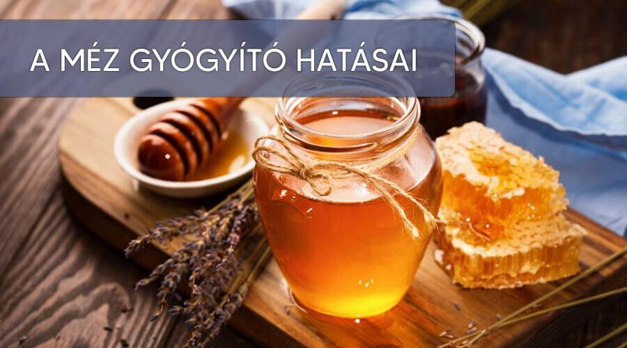 Mionden méznek gyógyító hatása van.