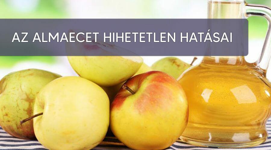 Az almaecet hatása a májra