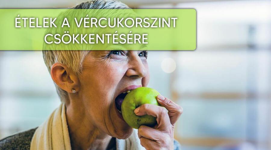 Vércukorszint csökkentő ételek.