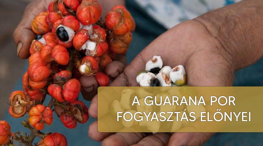 A guarana por fogyasztás előnyei