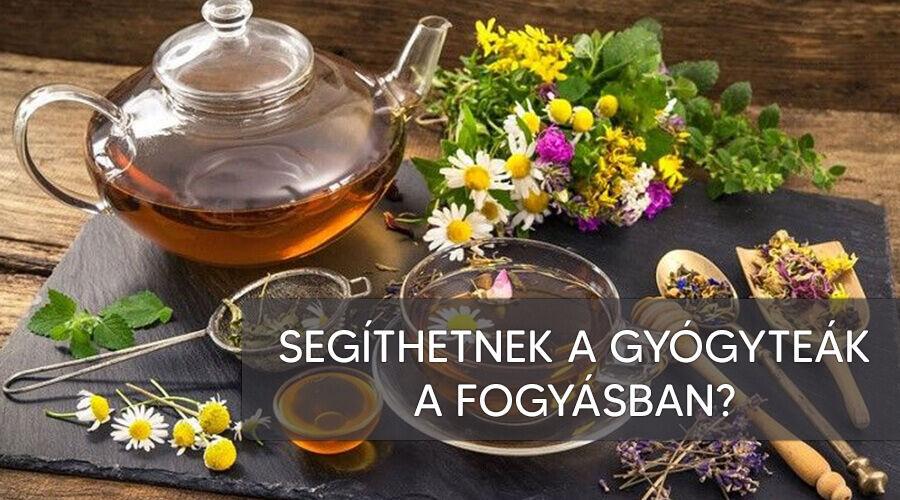 Segíthetnek fogyni a gyógynövény teák?