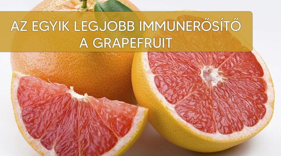 Az immunerősítő grapefruit