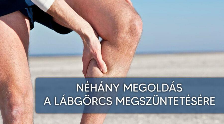 Hatékony gyógymódok lábgörcs ellen.