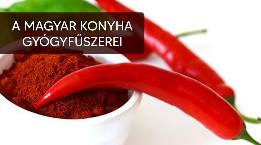 A magyar konyha fűszerei.
