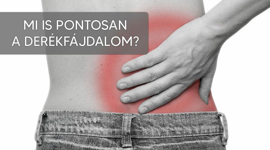 Mi is a derékfájdalom?