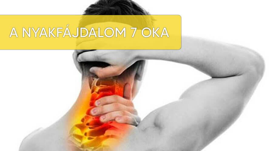 A nyakfájdalom 7 oka.