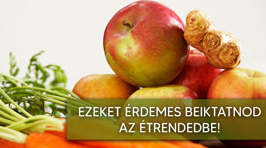 Zöldségek és gyümölcsök amit télen érdemes fogyasztani