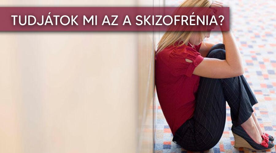 A skizofrénia tünetei.